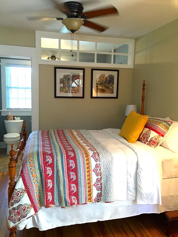 Floyd Virginia Room 3B Accommodations