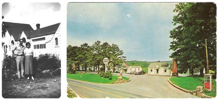 Pine Tavern Lodge circa 1937